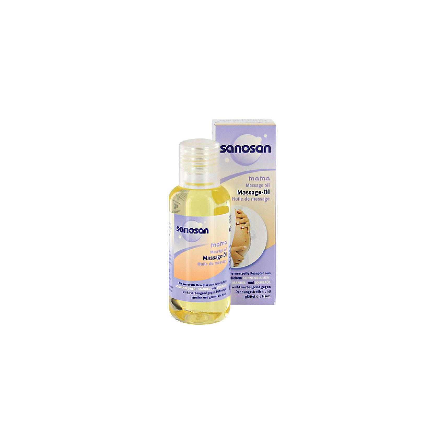 Масло для массажа в период беременности 100 мл., Sanosan
