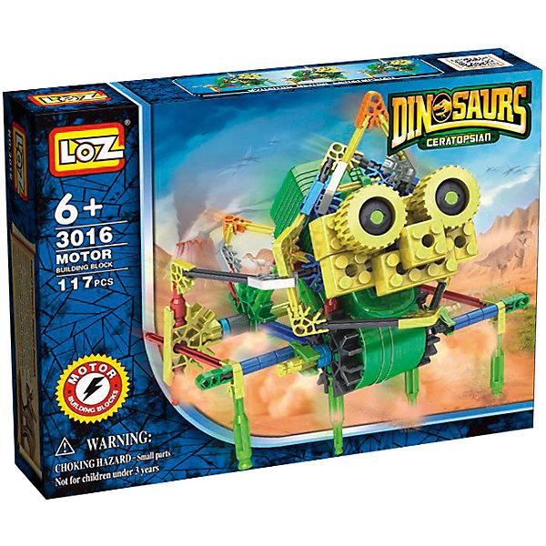 Loz Электромеханический конструктор IROBOT. Динозавры. Насекавр, Loz конструктор электромеханический loz park четыре лопасти