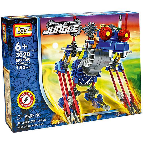 Loz Электромеханический конструктор IROBOT. Джунгли. МегаЖук, Loz loz mini minions building blocks diy bricks toy