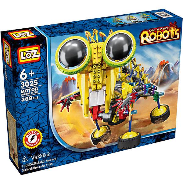Электромеханический конструктор IROBOT. Роботы. Шиношлеп, LozПластмассовые конструкторы<br>Электромеханический конструктор IROBOT. Роботы. Шиношлеп, Loz будет замечательным подарком для Вашего ребенка. <br><br>Конструкторы данной серии уникальны тем, что малыш может играть получившейся игрушкой.<br><br> Для работы моторчика нужны две батарейки типа АА (в комплект не входят). В набор входит 389 деталей конструктора и подробная инструкция.<br>Ширина мм: 50; Глубина мм: 260; Высота мм: 360; Вес г: 620; Возраст от месяцев: 72; Возраст до месяцев: 180; Пол: Мужской; Возраст: Детский; SKU: 5012255;
