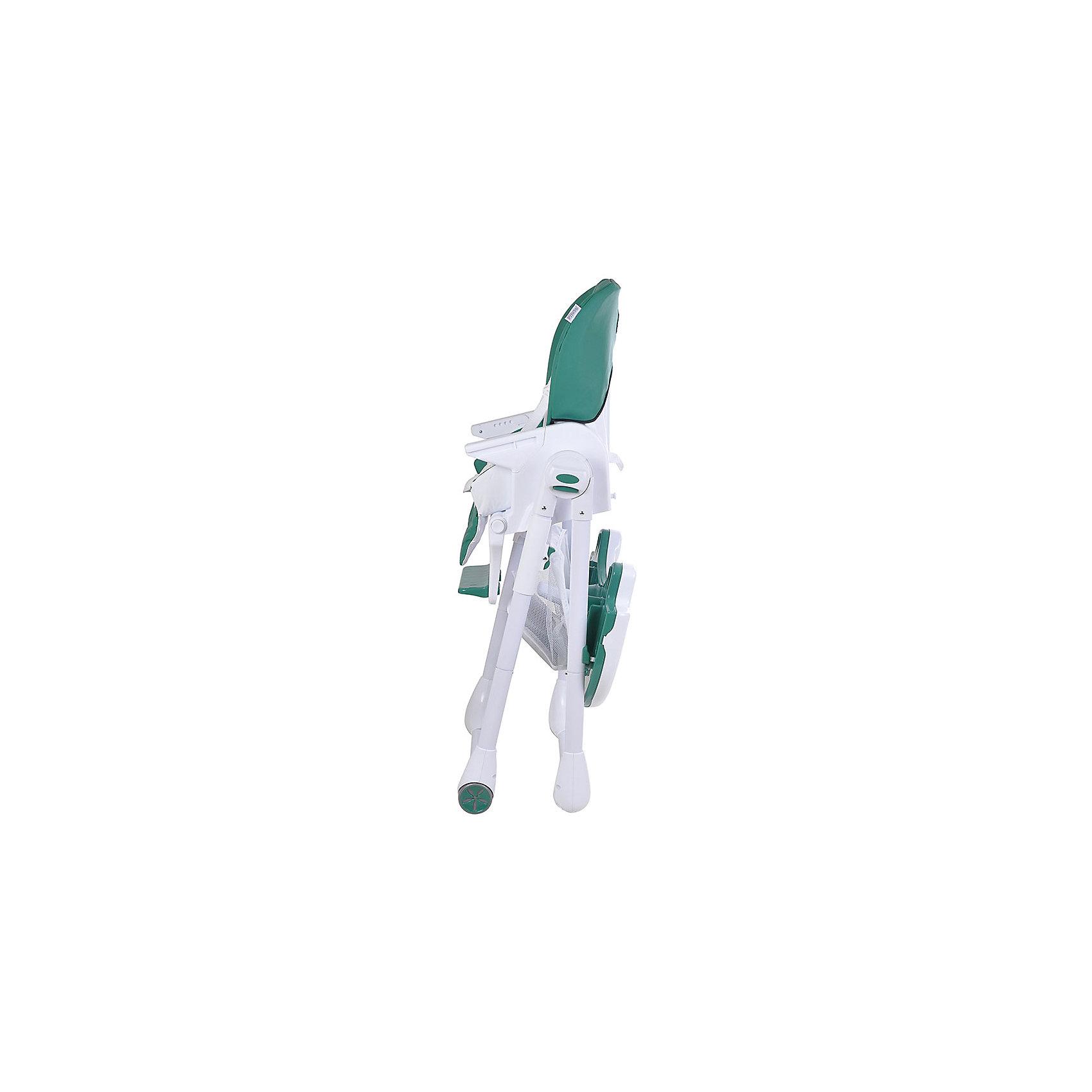 Стульчик для кормления ELCANTO, Pituso, ECO кожа, зеленый