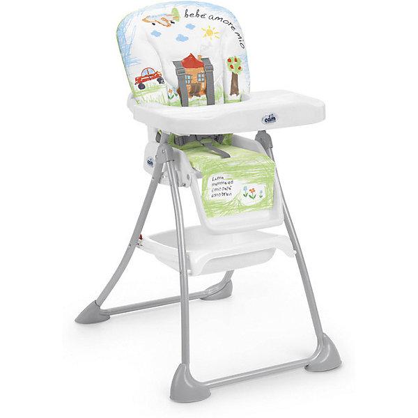 Стульчик для кормления Mini Plus, CAM, Bebe amore mioСтульчики для кормления с 6 месяцев<br>Стульчик для кормления Mini Plus, CAM, Bebe amore mio обеспечивает удобство при кормлении.<br>Очень компактный и легкий стул создает максимальный комфорт для ребенка. Он регулируется: наклон спинки и высота сиденья, положение и высота опоры для ног в трех режимах. Поднос можно снять. Кроме того, у стульчика чехол из эко-кожи, который можно снять и легко помыть. Ножки с защитными насадками против скольжения. Для безопасности ребенка 5-точечный ремень безопасности. Есть отделение, в котором можно хранить продукты.<br><br>Дополнительная информация:<br><br>- размер в открытом виде: 62х83х111 см<br>- размер в сложенном виде: 62х23х109 см<br>- возрастная группа: от 6 месяцев<br>- цвет: белый<br><br>Стульчик для кормления Mini Plus, CAM, Bebe amore mio бежевый можно купить в нашем интернет магазине.<br>Ширина мм: 550; Глубина мм: 220; Высота мм: 995; Вес г: 8300; Возраст от месяцев: 6; Возраст до месяцев: 36; Пол: Унисекс; Возраст: Детский; SKU: 5013518;