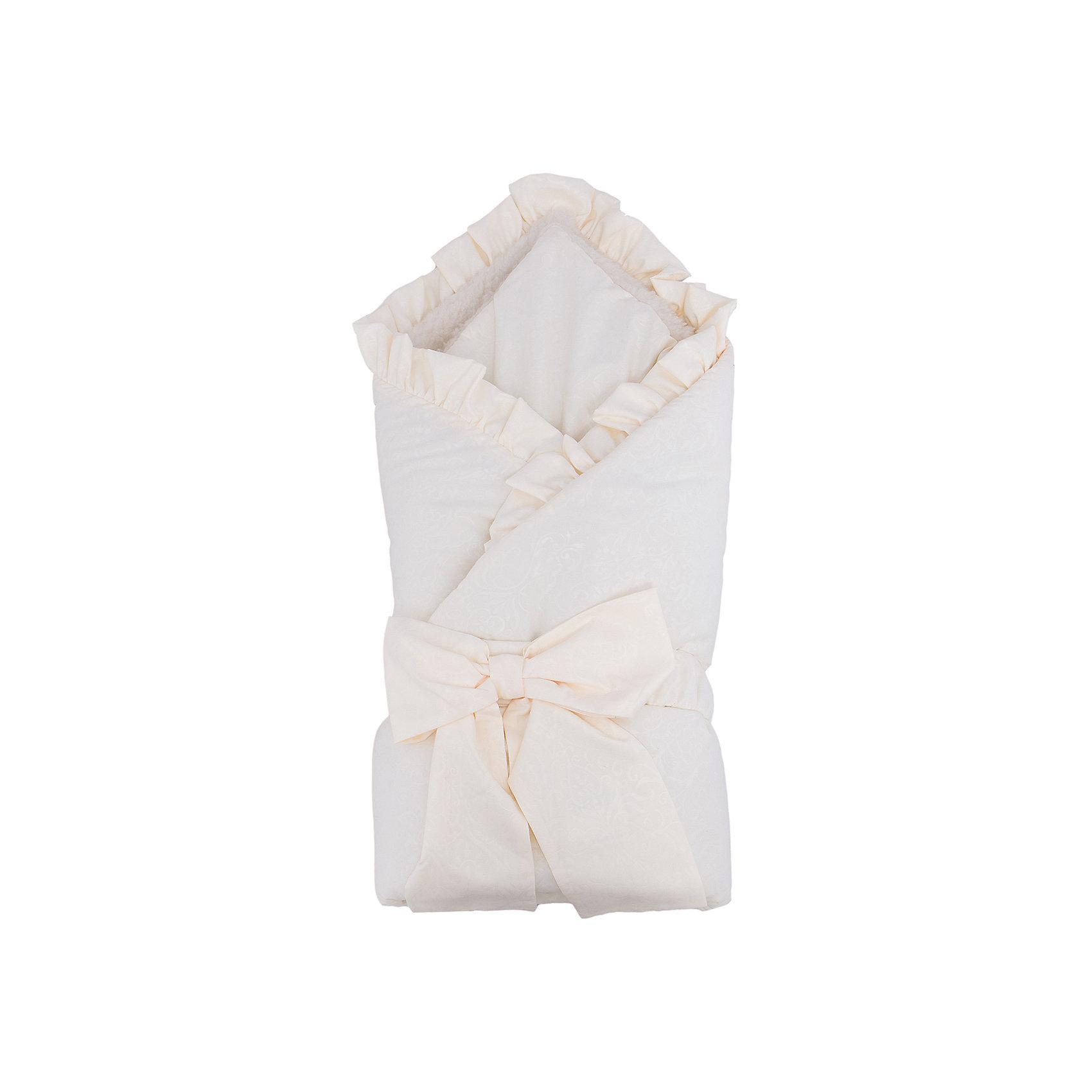 Конверт-одеяло Ваниль, мех, Сонный гномик, бежевый