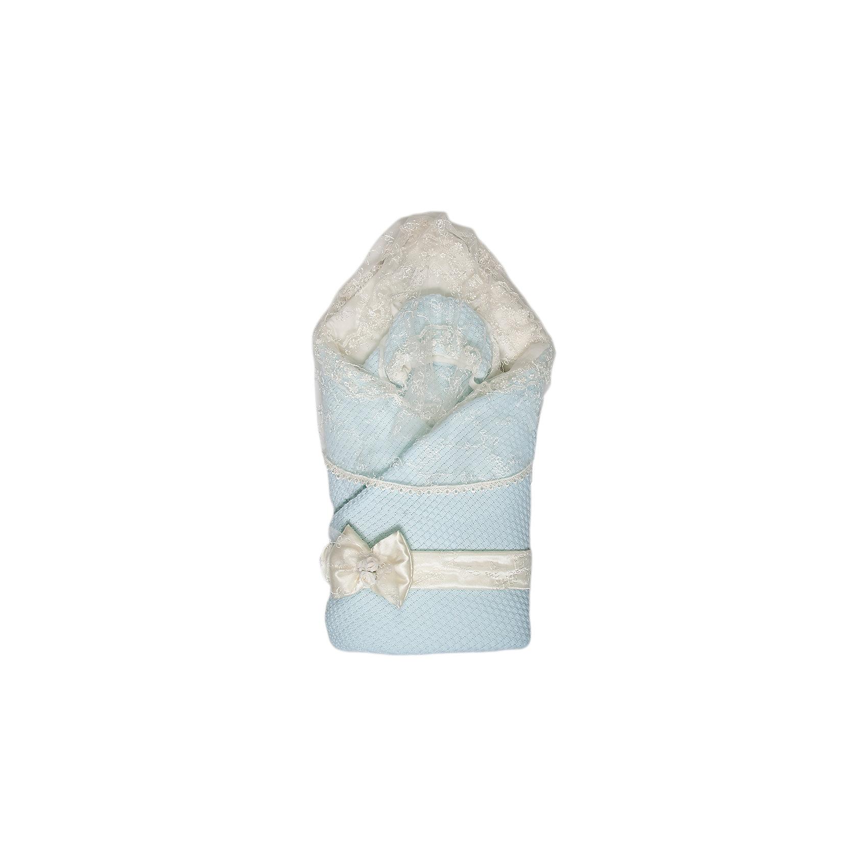 Конверт-одеяло Жемчужинка, Сонный гномик, голубой