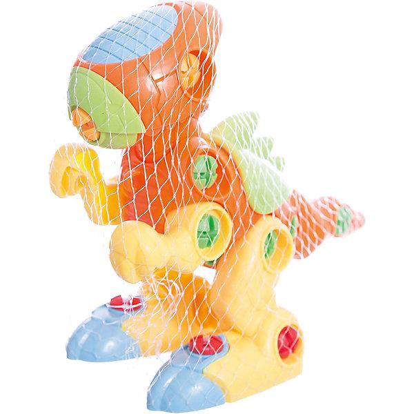 Конструктор Динозаврик (с отверткой), KriblyBooПластмассовые конструкторы<br>Конструктор Динозаврик (с отверткой), KriblyBoo (Крибли Бу).<br><br>Характеристики:<br><br>• яркие цвета<br>• безопасен для ребенка<br>• материал: пластик<br>• размер упаковки: 8х15х17 см<br>• вес: 260 грамм<br><br>Динозаврик - необычный конструктор, который поможет развить мелкую моторику и усидчивость. Ребенку предстоит собрать яркого разноцветного динозаврика при помощи нескольких деталей и отвертки. Этот увлекательный процесс прекрасно подойдет активных детей!<br><br>Конструктор Динозаврик (с отверткой), KriblyBoo (Крибли Бу) вы можете приобрести в нашем интернет-магазине.<br>Ширина мм: 170; Глубина мм: 150; Высота мм: 80; Вес г: 260; Возраст от месяцев: 36; Возраст до месяцев: 120; Пол: Мужской; Возраст: Детский; SKU: 5017664;