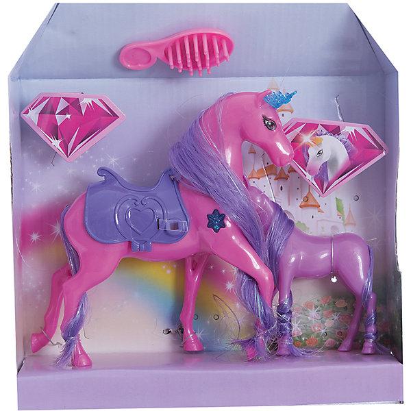 Набор Страна волшебных друзей лошадка с жеребенком, комп.1, EstaBellaОдежда для кукол<br>Набор Страна волшебных друзей лошадка с жеребенком, комп.1, EstaBella (Эстабелла).<br><br>Характеристики:<br><br>• гриву можно расчесывать<br>• материал: пластик, текстиль<br>• размер упаковки: 22х6х25 см<br>• вес: 180 грамм<br><br>Страна волшебных друзей - удивительный набор, который подарит девочке самые яркие и волшебные фантазии. В комплект входит большая лошадка и маленький жеребенок. Они оба очень яркие и способны поразить своей красотой. Гриву лошадки можно расчесать или даже сделать прическу. Лошадка имеет уютное седло, на котором девочка сможет прокатить свою куклу. С этим набором игры станут очень интересными и увлекательными!<br><br>Набор Страна волшебных друзей лошадка с жеребенком, комп.1, EstaBella (Эстабелла) можно купить в нашем интернет-магазине.<br>Ширина мм: 250; Глубина мм: 60; Высота мм: 220; Вес г: 180; Возраст от месяцев: 36; Возраст до месяцев: 120; Пол: Женский; Возраст: Детский; SKU: 5017676;