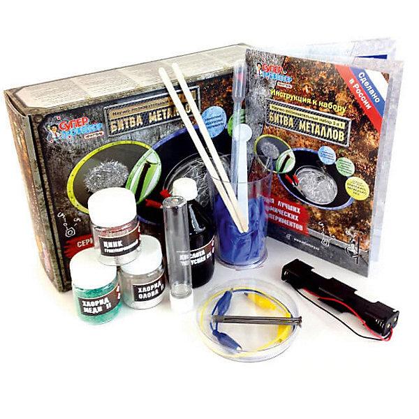 Qiddycome Научно-познавательный набор Битва металлов научно познавательный набор intellectico телеграф
