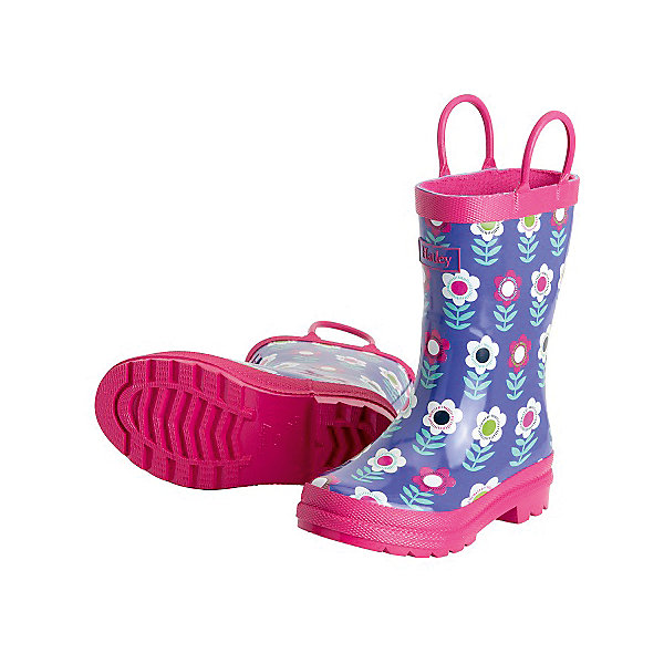 Hatley Резиновые сапоги для девочки Hatley сапоги monaco low