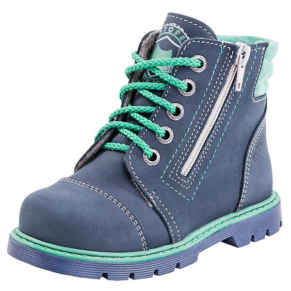 Фотография товара ботинки для мальчика Котофей (5023964)