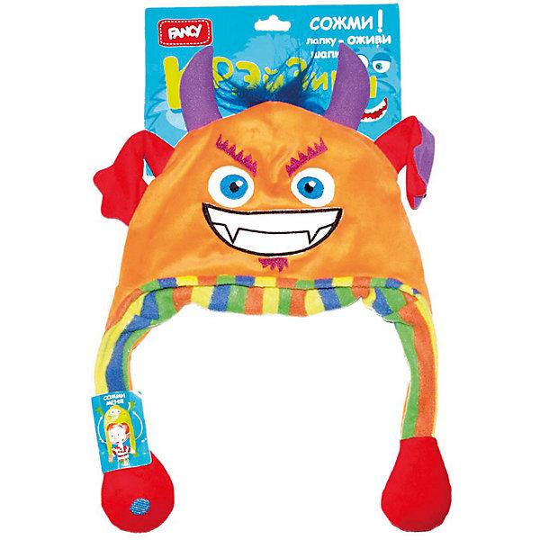 Головной убор Шапка-чёртик, FancyМягкие игрушки животные<br>Порадуйте ребенка такой смешной Шапкой-чертик!<br><br>Дополнительная информация: <br><br>- Материал: 100 % плюш.<br>- Размер упаковки: 21х17х35 см.<br>- Вес в упаковке: 220 г.<br><br>Купить головной убор Шапка-чертик от Fancy, можно в нашем магазине.<br>Ширина мм: 500; Глубина мм: 270; Высота мм: 30; Вес г: 90; Возраст от месяцев: 60; Возраст до месяцев: 2147483647; Пол: Унисекс; Возраст: Детский; SKU: 5025384;