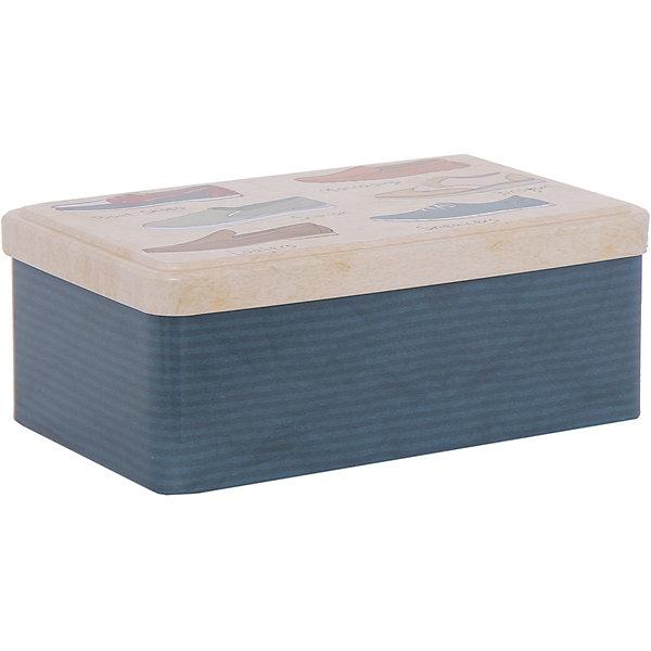 Набор д/ухода за обувью арт.40920, Magic HomeВ дорогу<br>Дорожный набор для ухода за обувью комплектуется четырьмя предметами, хранится в жестяной коробочке с крышкой. Крышка декорирована рисунком «Обувь». Набор можно брать с собой в дорогу, хранить в машине или использовать дома. <br><br>Дополнительная информация:<br><br>Размер контейнера с крышкой: 18,4х11,5х7,2 см<br><br>Материал контейнера: металл<br>Материал щеток: синтетический ворс, 100% полиэстер<br><br>Комплектация набора для ухода за обувью:<br><br>• щетка малая, <br>• щетка средняя, <br>• крем д/обуви на основе парафина (бесцветный), <br>• рожок д/обуви из нержавеющей стали,<br>• контейнер с крышкой.<br><br>Набор д/ухода за обувью арт.40920, Magic Home можно купить в нашем интернет-магазине.<br>Ширина мм: 190; Глубина мм: 80; Высота мм: 120; Вес г: 354; Возраст от месяцев: 216; Возраст до месяцев: 1200; Пол: Унисекс; Возраст: Детский; SKU: 5030484;