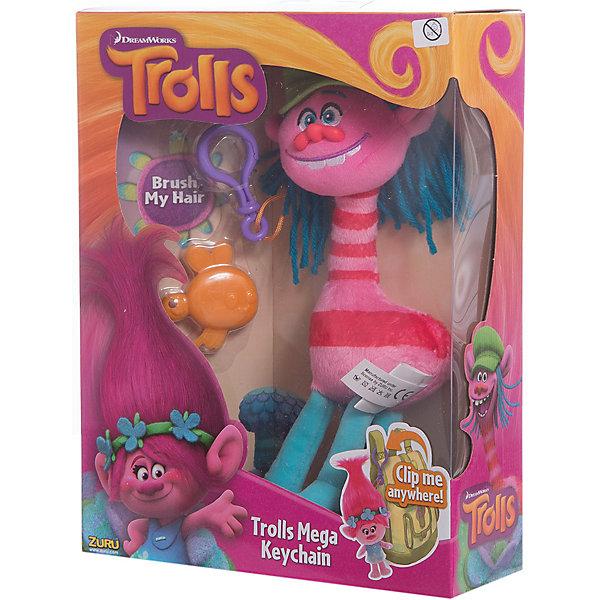 Мягкая игрушка Тролль Cooper, с расческой и карабином, ТроллиМягкие игрушки из мультфильмов<br><br>Ширина мм: 200; Глубина мм: 70; Высота мм: 260; Вес г: 200; Возраст от месяцев: 36; Возраст до месяцев: 192; Пол: Унисекс; Возраст: Детский; SKU: 5030529;