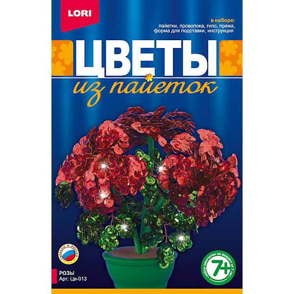 Купить Цветы из пайеток Розы, LORI, Россия, Унисекс