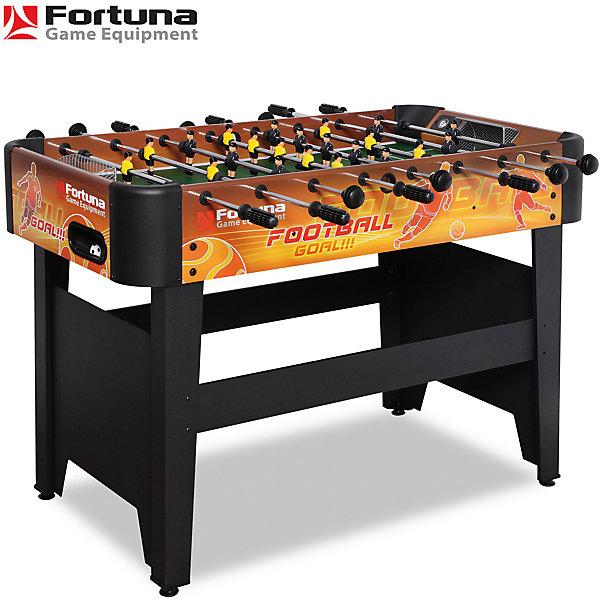 Настольный футбол-кикер, Arena FRS-455, 120х61х84 см, , FortunaСпортивные настольные игры<br>Настольный футбол-кикер, Arena FRS-455<br><br>Характеристики игрового набора Fortuna Game Equipment:<br><br>• размер стола в собранном виде: 120х61х84 см см;<br>• вес: 20 кг<br>• размер игрового поля: 104,5х57,5 см;<br>• регулируется по высоте;<br>• имеются механические счетчики голов;<br>• мячи: 4 шт, диаметр 31 мм;<br>• материла корпуса + покрытие: МДФ/ПВХ;<br>• материал рукояток: резина;<br>• материал штанг: металл хромированный, количество штанг: 8 шт.;<br>• длина штанг с рукоятками: 92/99/107 см;<br>• диаметр штанги: 12,7 мм;<br>• размер упаковки: 82х45х14 см;<br>• вес упаковки: 24 кг;<br>• упаковка: картонные коробки, МДФ, полиэтилен, пенопласт<br><br>Настольный футбол-кикер, Arena FRS-455, 120х61х84 см, Fortuna можно купить в нашем интернет-магазине.<br>Ширина мм: 1170; Глубина мм: 150; Высота мм: 640; Вес г: 24000; Возраст от месяцев: 36; Возраст до месяцев: 2147483647; Пол: Унисекс; Возраст: Детский; SKU: 5032456;