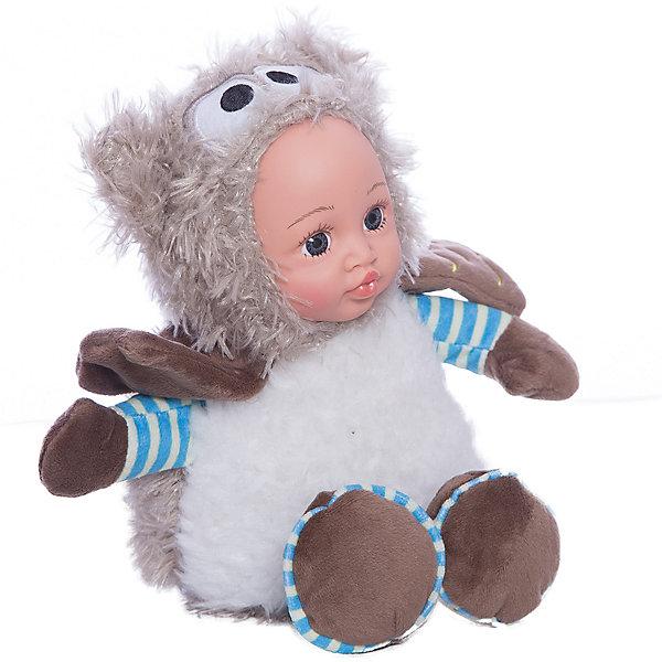 Игрушка Мой совенок, Fluffy FamilyКуклы<br>Игрушка «мой совенок» - милая вариация стандартной куклы–младенца. Малыш выполнен из пластика и тщательно прорисованным личиком. Одета кукла в костюм совенка. Ткань приятна на ощупь и малышу понравится играть с куклой. Игрушка подходит для одиночной игры малыша и для игр в компании. Не содержит мелких деталей. Кукла из коллекционной серии. Соберите весь набор! Материалы, использованные при изготовлении товара, абсолютно безопасны и отвечают всем международным требованиям по качеству.<br><br>Дополнительные характеристики:<br><br>материал: ПВХ, искусственный мех, пластик;<br>габариты: 20 X 9 X 30 см;<br>наполнитель: полиэтиленовые гранулы.<br><br>Игрушку Мой совенок от компании Fluffy Family можно приобрести в нашем магазине.<br>Ширина мм: 570; Глубина мм: 580; Высота мм: 450; Вес г: 140; Возраст от месяцев: 36; Возраст до месяцев: 96; Пол: Унисекс; Возраст: Детский; SKU: 5032468;