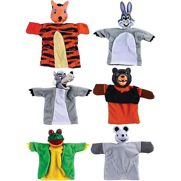 купить Жирафики Кукольный театр Теремок, 6 кукол, Жирафики дешево