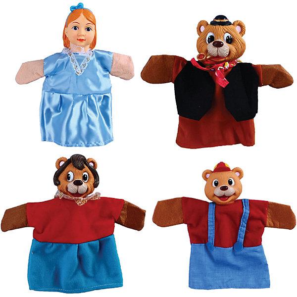 Жирафики Кукольный театр Три медведя, 4 куклы,