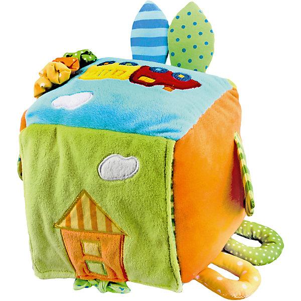 Развивающая игрушка Куб Поезд, ЖирафикиРазвивающие игрушки<br>Развивающие игрушки должны быть у каждого малыша. Такие игрушки будут не только развивать способности малыша во время веселой игры, но и радовать глаз, потому что современные развивающие модели красивые и обладают стильным дизайном. Новая игрушка «Куб Поезд» - мягкая игрушка, которая издает звуки, ели ее потрясти. Есть завязочки, которые развивают тактильные ощущения. Тренирует слух и улучшает мелкую моторику малыша. Материалы, использованные при изготовлении товара, абсолютно безопасны и отвечают всем международным требованиям по качеству.<br><br>Дополнительные характеристики:<br><br>материал: текстиль;<br>цвет: разноцветный;<br>габариты: 20 X 16 X 30 см.<br><br>Развивающую игрушку  Куб Поезд от компании Жирафики можно приобрести в нашем магазине.<br>Ширина мм: 620; Глубина мм: 720; Высота мм: 560; Вес г: 264; Возраст от месяцев: 3; Возраст до месяцев: 36; Пол: Унисекс; Возраст: Детский; SKU: 5032560;