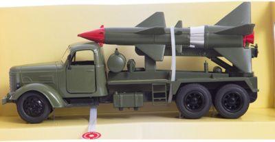 Ракетный комплекс, 1:36, со светом и звуком, Пламенный мотор, артикул:5032611 - Транспорт