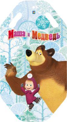 Маша и Медведь Ледянка 1Toy Маша и Медведь 1toy ледянка 1toy star wars штурмовик 92 см