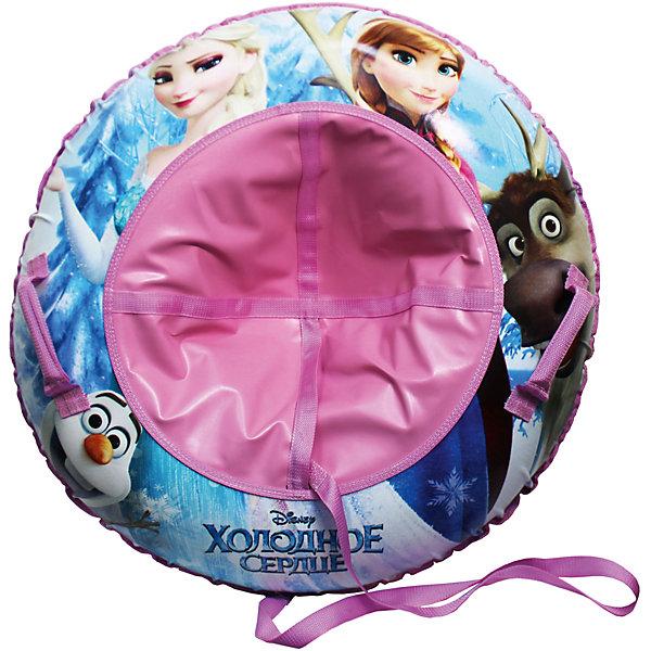 Disney Надувные сани-тюбинг, 100см, с буксировочным троссом, Холодное Сердце
