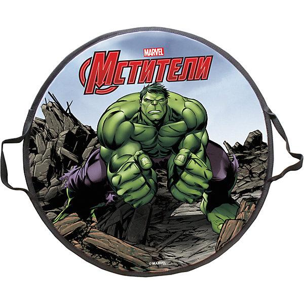 - Ледянка Hulk, 52 см, круглая, Мстители ледянка 1toy marvel spider man 52 см круглая