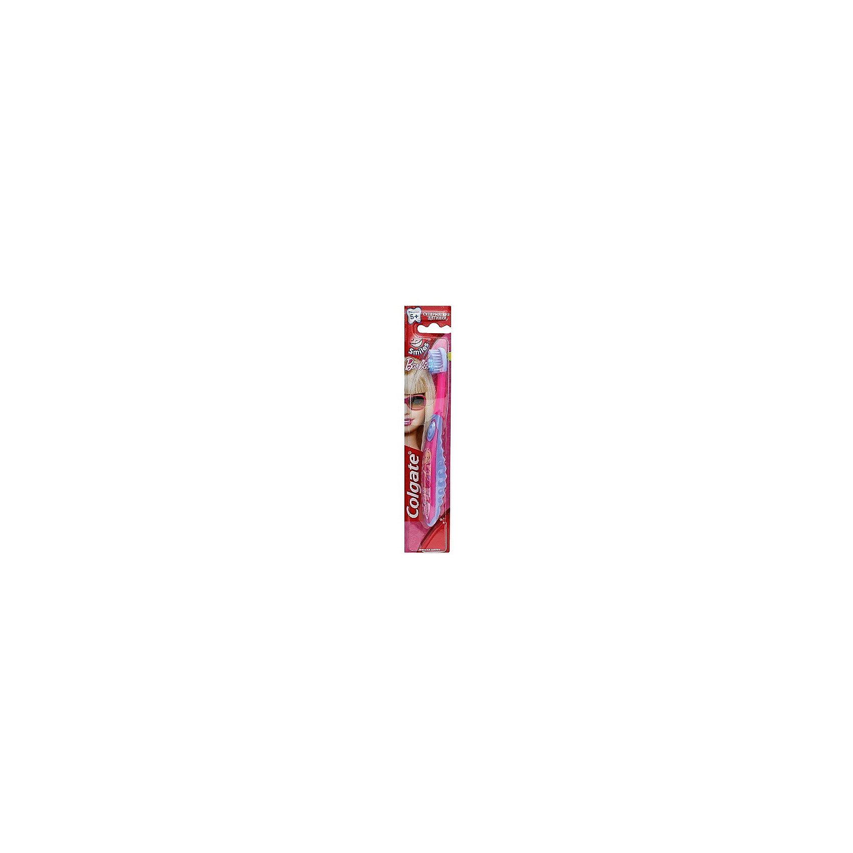 Зубная щётка для детей от 2 до 5 лет Barbie, Colgate, фиолетовый/розовый
