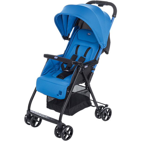CHICCO Прогулочная коляска Chicco Ohlala Power Blue коляска 2 в 1 chicco trio stylego red passion