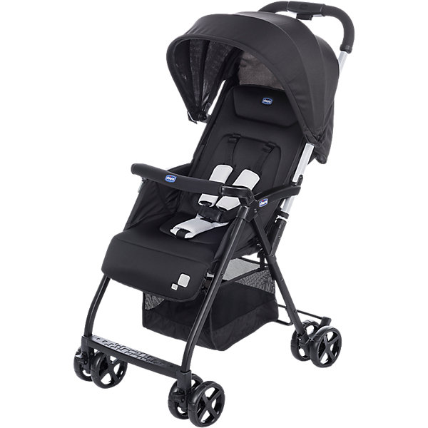 CHICCO Прогулочная коляска Chicco Ohlala Black Night коляска 2 в 1 chicco trio stylego red passion
