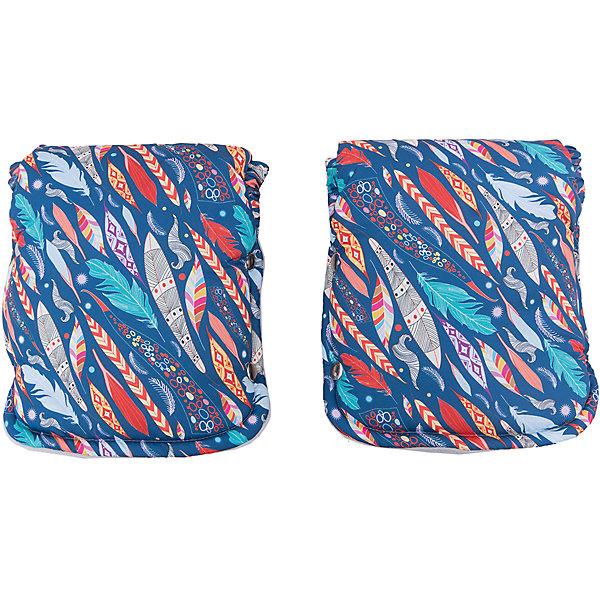 byTwinz Муфта для рук (рукавички) Сантьяго, byTwinz, цветной цена