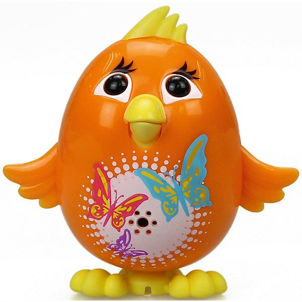 Silverlit Цыпленок с кольцом, оранжевый, DigiBirds silverlit золотая птичка с кольцом