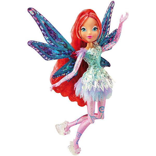 Кукла Блум, Тайникс, Winx ClubКуклы<br>Характеристики товара:<br><br>- цвет: разноцветный;<br>- материал: пластик, текстиль;<br>- особенности: руки и ноги сгибаются;<br>- размер упаковки: 25х36х6 см;<br>- размер куклы: 28 см.<br><br>Такие красивые куклы не оставят ребенка равнодушным! Какая девочка откажется поиграть с куклой Winx ?! Игрушка отлично детализирована, очень качественно выполнена, поэтому она станет отличным подарком ребенку. В наборе идут одежда и аксессуары, которыми можно украсить куклу!<br>Изделие произведено из высококачественного материала, безопасного для детей.<br><br>Куклу Блум, Тайникс, от бренда Winx Club можно купить в нашем интернет-магазине.<br>Ширина мм: 60; Глубина мм: 250; Высота мм: 360; Вес г: 425; Возраст от месяцев: 36; Возраст до месяцев: 2147483647; Пол: Женский; Возраст: Детский; SKU: 5047563;