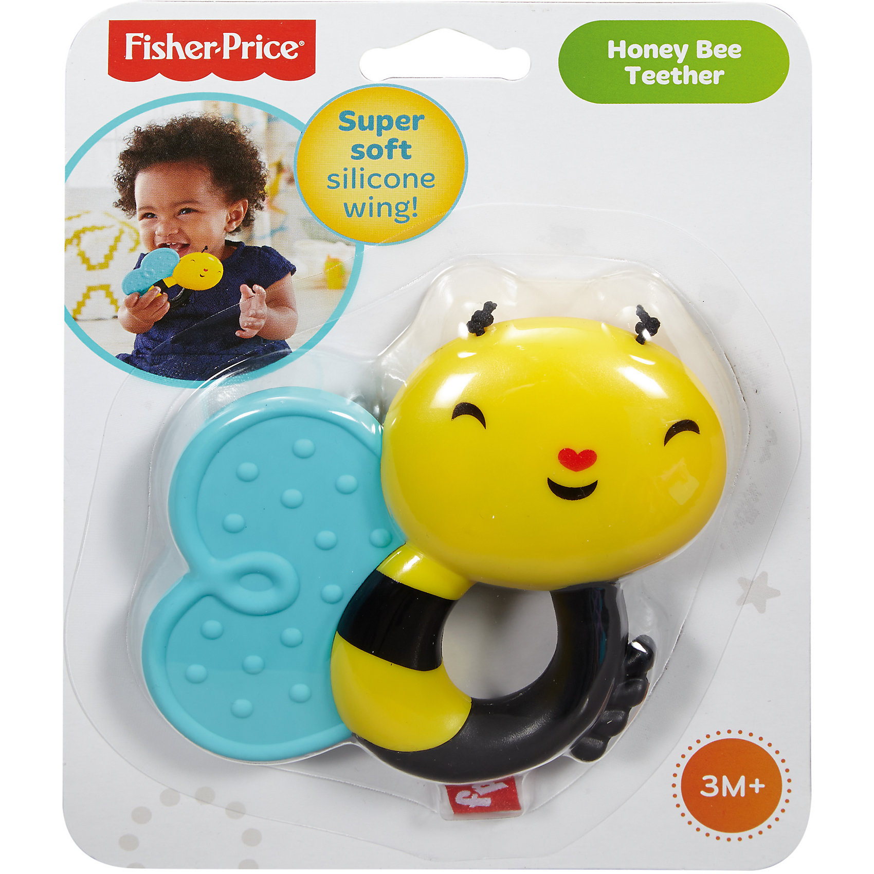 Прорезыватель Пчелка, Fisher Price (Mattel)