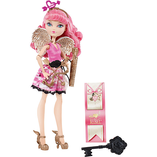 Mattel Кукла Ever After High Наследники и отступники Си-Эй Кьюпид, Ever After High ever after high ever after high кукла ever after high наследники и отступники 26 см в асс