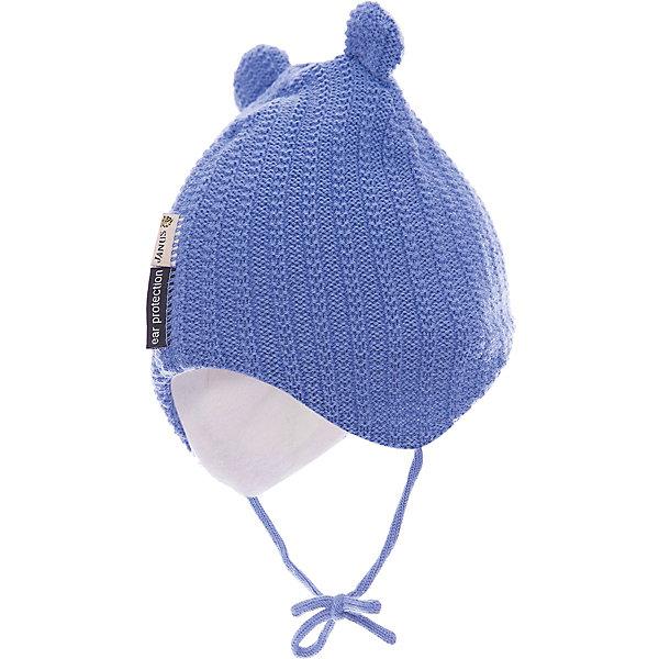 Купить Шапка Janus, голубой, Мужской