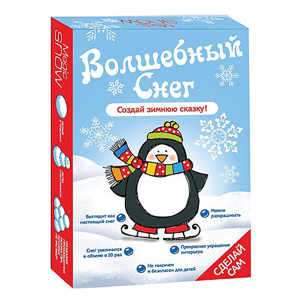 Бумбарам Набор для опытов Волшебный снег - Пингвин Бумбарам бумбарам набор для опытов тайны кристаллов
