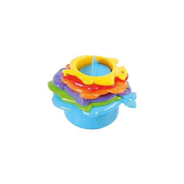 Игровой набор для ванной, PlaygoИгрушки для ванной<br>Игровой набор для ванной, Playgo<br><br>Характеристики:<br>- Материал: пластик<br>- В комплект входит: 6 предметов<br>- Размер: 22 * 7,5 * 15 см. <br>Игровой набор от известного китайского бренда развивающих игрушек для детей Playgo (Плейго) станет прекрасным подарком для крохи. Шесть веселых морских жителей с радостью будут проводить время в ванной вместе с малышом. Рыбки, черепашка и даже тюлень в разных цветовых гаммах помогут выучить цвета, а разные дизайны дна формочек будут выливать воду по-разному. Детали соединяются друг с другом и могут складываться большая в меньшую, как пирамидка. Игрушка способствует развитию логики, тактильных ощущений, воображения, светового восприятия и моторики ручек.<br>Игровой набор для ванной, Playgo (Плейго) можно купить в нашем интернет-магазине.<br>Подробнее:<br>• Для детей в возрасте: от 6 месяцев до 3 лет <br>• Номер товара: 5054065<br>Страна производитель: Китай<br>Ширина мм: 150; Глубина мм: 220; Высота мм: 70; Вес г: 250; Возраст от месяцев: 12; Возраст до месяцев: 36; Пол: Унисекс; Возраст: Детский; SKU: 5054065;