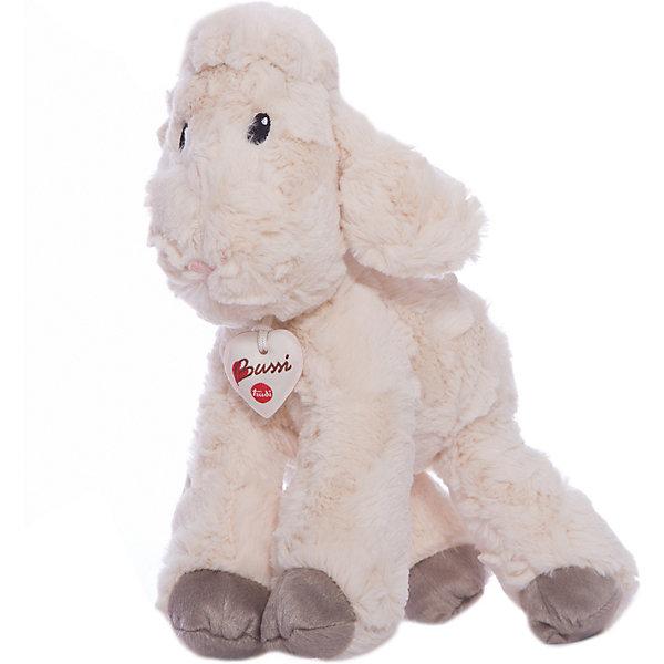 Белая овечка, 38 см, TrudiМягкие игрушки животные<br>Очаровательная овечка от Trudi станет лучшим другом вашему малышу! У милой овечки очень мягкая шерстка, маленький розовый носик, добрые озорные глаза - с ней будет очень весело играть днем и спокойно и уютно засыпать ночью. Игрушка изготовлена из высококачественных нетоксичных, экологичных материалов абсолютно безопасных для детей. Благодаря тщательной проработке всех деталей, кошка выглядит очень реалистично, что, несомненно, порадует ребенка. Прекрасный подарок на любой праздник!<br><br>Дополнительная информация:<br><br>- Материал: плюш, пластик, текстиль, искусственный мех. <br>- Высота: 38 см. <br>- Допускается машинная стирка при деликатной режиме (30 ?).<br><br>Белую овечку, 38 см, Trudi (Труди), можно купить в нашем магазине.<br>Ширина мм: 280; Глубина мм: 250; Высота мм: 380; Вес г: 250; Возраст от месяцев: 12; Возраст до месяцев: 2147483647; Пол: Унисекс; Возраст: Детский; SKU: 5055250;