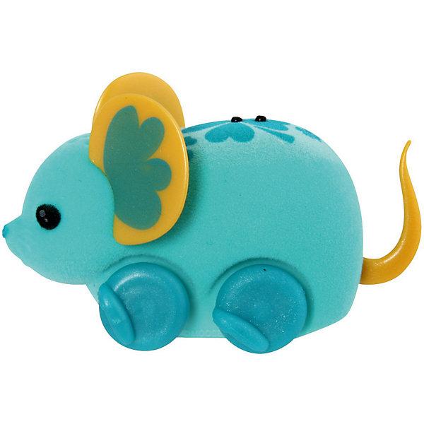 Интерактивная мышка в колесе, голубая, Little Live Pets