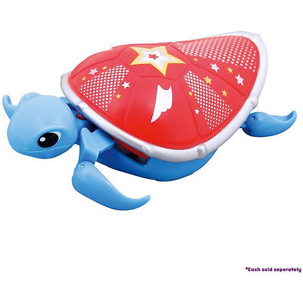 Интерактивная черепашка, голубая с красным панцирем, 3-я серия, Little Live Pets от Moose
