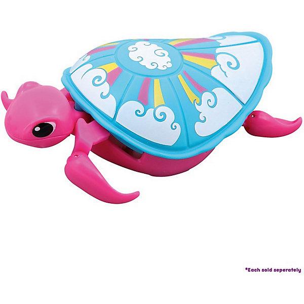 Moose Интерактивная черепашка, розовая, 3-я серия, Little Live Pets интерактивная игрушка moose черепашка little live pets в ассортименте
