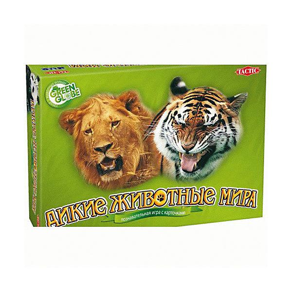 Tactic Games Карточная игра Дикие животные мира, Tactic Games tactic games лото домашние животные tactic games