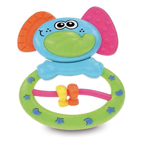 Игрушка Слоник, BKidsПустышки<br>Характеристики:<br><br>• развивающая игрушка для детей с первых дней жизни;<br>• голова слоненка покачивается;<br>• игрушка с удобным кольцом-держателем;<br>• на дуге перемещаются 2 фигурки;<br>• ушки слоненка – рельефные прорезыватели;<br>• игрушка оснащена выпуклыми элементами для развития мелкой моторики;<br>• материал: пластик;<br>• размер упаковки: 10х15х2 см.<br> <br>Игрушка «Слоник» с разнообразием развивающих элементов развивает зрительное, тактильное и образное восприятие. Малыш «грызет» ушки-прорезыватели, исследует каждый сантиметр игрушки и нащупывает разные звездочки, полумесяцы, линии и зигзаки – рельефная поверхность игрушки создана для развития мелкой моторики. <br><br>Игрушка Слоник, BKids можно купить в нашем интернет-магазине.<br>Ширина мм: 152; Глубина мм: 152; Высота мм: 20; Вес г: 73; Возраст от месяцев: 0; Возраст до месяцев: 36; Пол: Унисекс; Возраст: Детский; SKU: 5055398;