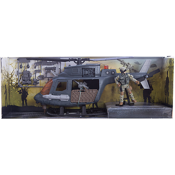 """Фотография товара игровой набор """"Десантный вертолет"""", Chap Mei (5055434)"""