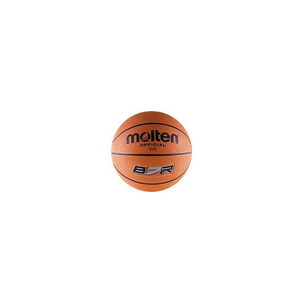 Баскетбольный мяч, B7R, р. 7, резина, оранж., MOLTENМячи детские<br>Основные характеристики<br><br>Вид: баскетбольный<br>Уровень игры: любительский<br>Размер: 7<br>Количество панелей: 8<br>Тип соединения панелей: клееный<br>Вес: 610гр<br>Окружность: 74.9-78см<br>Цвет основной: оранжевый<br>Цвет дополнительный: черный<br>Материал камеры: латексно-бутиловая<br>Материал обмотки камеры: нейлон<br>Материал покрышки: резина<br>Мяч подходит для игры на улице и в зале<br>Страна-производитель: Таиланд <br>Упаковка: пакет (поставляется в сдутом виде)<br>Ширина мм: 260; Глубина мм: 260; Высота мм: 50; Вес г: 610; Возраст от месяцев: 36; Возраст до месяцев: 192; Пол: Унисекс; Возраст: Детский; SKU: 5056630;