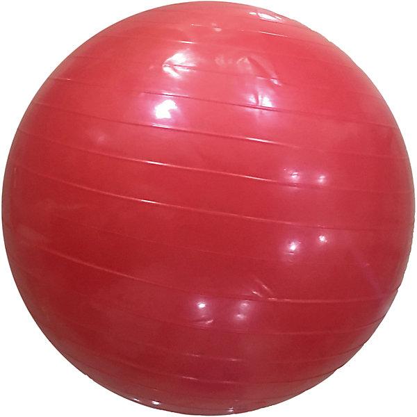 Гимнастический мяч,  диам. 56 см, Z-SportsФитболы<br>Основные характеристики<br><br>Тип: гимнастический <br>Материал: поливинилхлорид<br>Диаметр: 55см<br>Вес: 0,88кг<br>Цвет: коралловый<br>Максимальный вес пользователя: 60кг<br>Страна-производитель: Китай<br>Упаковка: индивидуальная цветная коробка<br><br>Является универсальным тренажером для всех групп мышц, помогает развить гибкость, исправить осанку, снимает чувство усталости в спине.<br>Незаменим на занятиях фитнесом и физкультурой. Главная функция мяча — снять нагрузку с позвоночника и разгрузить суставы. Именно упражнения с применением гимнастических мячей способны тренировать спину и улучшать осанку, бороться с искривлениями позвоночника, в особенности у детей и подростков. Гимнастические мячи могут использоваться также при массаже новорожденных. <br>Поставляется в сдутом виде.<br><br>Преимущества мяча ВВ-001РК-22:<br>- способствует развитию и укреплению мышц спины, пресса, ног и рук;<br>- используются при занятиях гимнастикой, аэробикой, фитнесом;<br>- способствуют восстановлению мышечных функций и улучшению здоровья в целом.<br>Ширина мм: 90; Глубина мм: 210; Высота мм: 260; Вес г: 875; Возраст от месяцев: 36; Возраст до месяцев: 192; Пол: Унисекс; Возраст: Детский; SKU: 5056641;