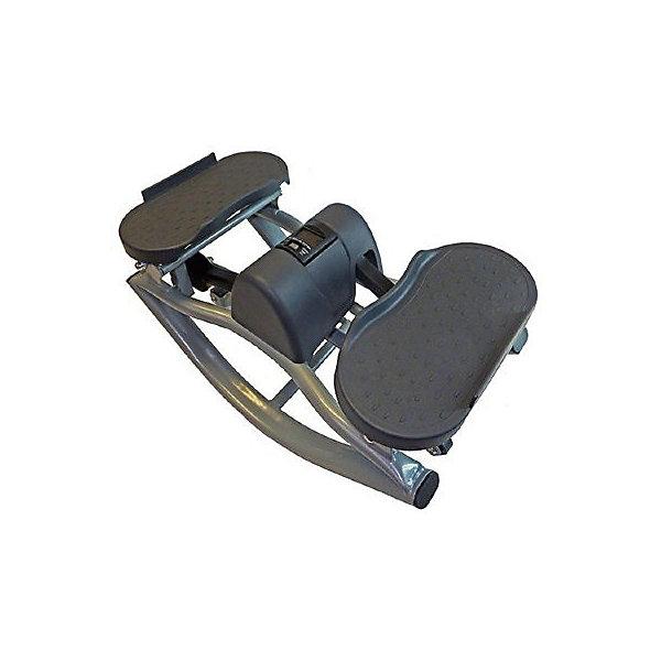 Балансировочный степпер, Sport ElitТренажеры<br>Министеппер Sport Elit SE 5106 отлично подойдет для тех, кто хочет самостоятельно в домашних условиях поддерживать свою физическую форму в очень хорошем состоянии. Занимаясь на этом тренажере, любой пользователь в независимости от начального уровня физической подготовки сможет тренировать очень многие группы мышц: бедра, ягодицы, бицепс, трицепс, плечи, спина, пресс.<br>Для тренировок не требуется специальных знаний, министеппер  Sport Elit SE 5106 очень прост в использовании, а комплексов упражнений для него существует огромное множество. Каждый пользователь сможет с легкостью подобрать упражнения именно для тех групп мышц, которые нуждаются в тренировке. Небольшой встроенный компьютер сообщит пользователю основные параметры тренировки: число сделанных шагов, время, количество калорий, потраченных за время тренировки, количество шагов за минуту. Показания компьютера позволят следить за интенсивностью тренировки и корректировать тренировочный процесс.<br>ИспользованиеДомашнее<br>Максимальный вес пользователя100 кг<br>Рамастальная, лакированная<br>Система нагружениягидравлическая<br>Измерение пульсанет<br>Показания монитора кол-во шагов, время, потраченные калории, кол-во шаг/мин<br>Питание Не требует подключения к сети<br>Вес тренажера11,2 кг <br>Габариты тренажера51х27х27 см<br>Вес тренажера в коробке12,5 кг<br>Габариты в упаковке29х51х40 см<br>Гарантия18 месяцев<br>ПроизводительSport Elite<br>ИзготовительКитай<br>Ширина мм: 400; Глубина мм: 510; Высота мм: 290; Вес г: 6500; Возраст от месяцев: 36; Возраст до месяцев: 192; Пол: Унисекс; Возраст: Детский; SKU: 5056658;