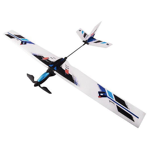 Планер с моторчиком, синий, AirHogsРадиоуправляемые вертолёты<br>Электронная игрушка планер AirHogs с моторчиком. <br><br>Характеристики планера с моторчиком AirHogs:<br><br>• преодолевает расстояние до 22 метров;<br>• размах крыльев составляет 56 см;<br>• батарейки включены в комплект: 2 шт. типа АА;<br>• размер упаковки: 25,3х15х30 см;<br>• вес упаковки: 737 г.<br><br>Сборная модель планера с моторчиком для игр на улице работает от батареек. Легкий пластик, большие крылья и надежное крепление деталей друг с другом дает планеру маневренность и плавный ход. Кнопка активации находится возле кабины, предусмотрено автоматическое отключение через 12 секунд. Планер в собранном виде украшается наклейками. <br><br>Планер с моторчиком, синий, AirHogs можно купить в нашем интернет-магазине.<br>Ширина мм: 30; Глубина мм: 180; Высота мм: 350; Вес г: 312; Возраст от месяцев: 36; Возраст до месяцев: 2147483647; Пол: Мужской; Возраст: Детский; SKU: 5064331;