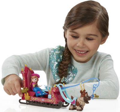 Игровой набор Маленькие куклы Анна, Свен и сани, Холодное сердце, артикул:5064696 - Категории