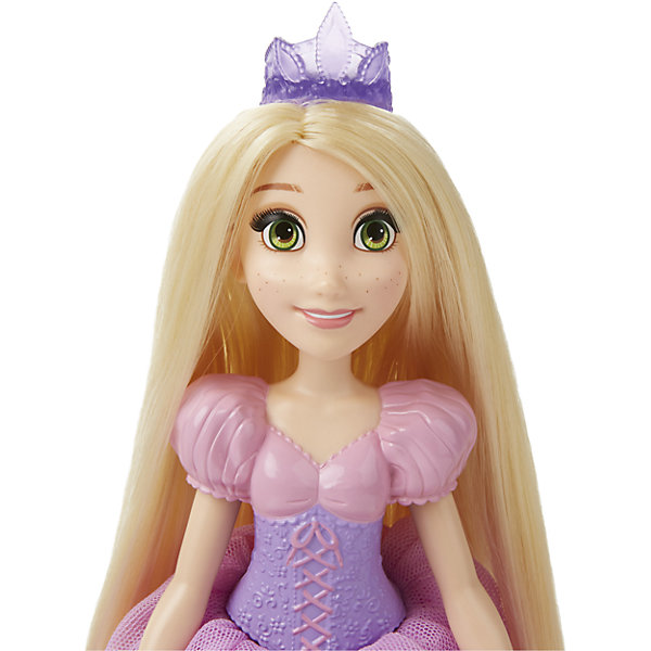 Куклы Принцесса Рапунцель для игры с водой, Принцессы Дисней, B5302/B5304Популярные игрушки<br>Куклы Принцессы Рапунцель для игры с водой, Принцессы Дисней, B5302/B5304.<br><br>Характеристики:<br><br>- В наборе: кукла, ложечка для мыльных пузырей<br>- Раствор для выдувания пузырей не входит в комплект<br>- Материал: высококачественный пластик, текстиль<br>- Высота куклы: 28 см.<br>- Размер упаковки: 15,2х6,4х35,6 см.<br><br>Очаровательная кукла в виде Рапунцель, героини одноименного мультфильма, от торговой марки Hasbro (Хасбро) станет любимой игрушкой вашей маленькой принцессы. Кукла имеет высокую степень детализации, даже самые мелкие детали качественно прорисованы. Рапунцель одета в красивое розовой платье с рукавами-фонариками. На голове у Рапунцель - тиара, как и полагается настоящей принцессе. Однако она не только выполняет декоративную функцию, но и является уникальным игровым аксессуаром - из нее можно пускать самые настоящие мыльные пузыри! Для этого нужно залить мыльный раствор в отверстие в спине куклы, которое закрывается герметичной крышкой, а затем надавить на куклу. Кроме того, с помощью аксессуара, входящего в комплект, можно пускать мыльные пузыри обычным способом. Руки, ноги и голова куклы подвижны, а ее роскошные, длинные волосы можно расчесывать и укладывать в различные прически. Кукла изготовлена из прочного пластика, а ее одежда пошита из высококачественного текстиля.<br><br>Куклу Принцессы Рапунцель для игры с водой, Принцессы Дисней, B5302/B5304 можно купить в нашем интернет-магазине.<br>Ширина мм: 62; Глубина мм: 164; Высота мм: 356; Вес г: 322; Возраст от месяцев: 36; Возраст до месяцев: 144; Пол: Женский; Возраст: Детский; SKU: 5064700;